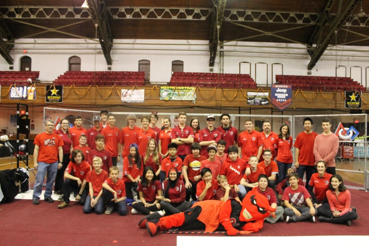 Team 1334 at Rah Cha Cha Ruckus in Rochester, NY