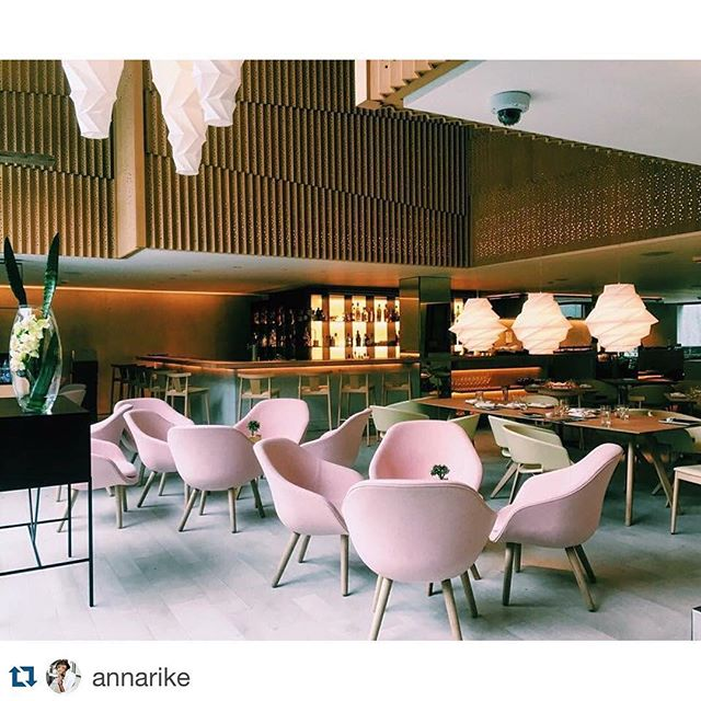 Love to see great comments on our #HAY chairs! Available for purchase @ elementalstore.com  #Repost @annarike with @repostapp. ・・・ Four Seasons hotels, major chair crush! #pinkchair #fourseasons #fourseasonshotel @fourseasons