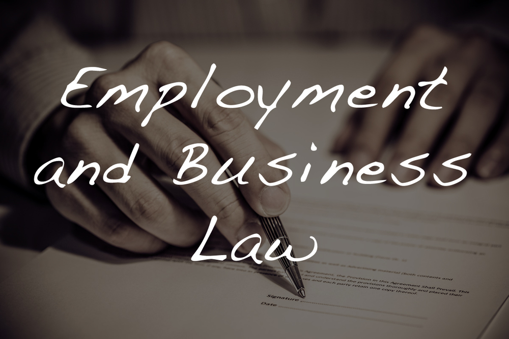 Link to Employment and Business Law.