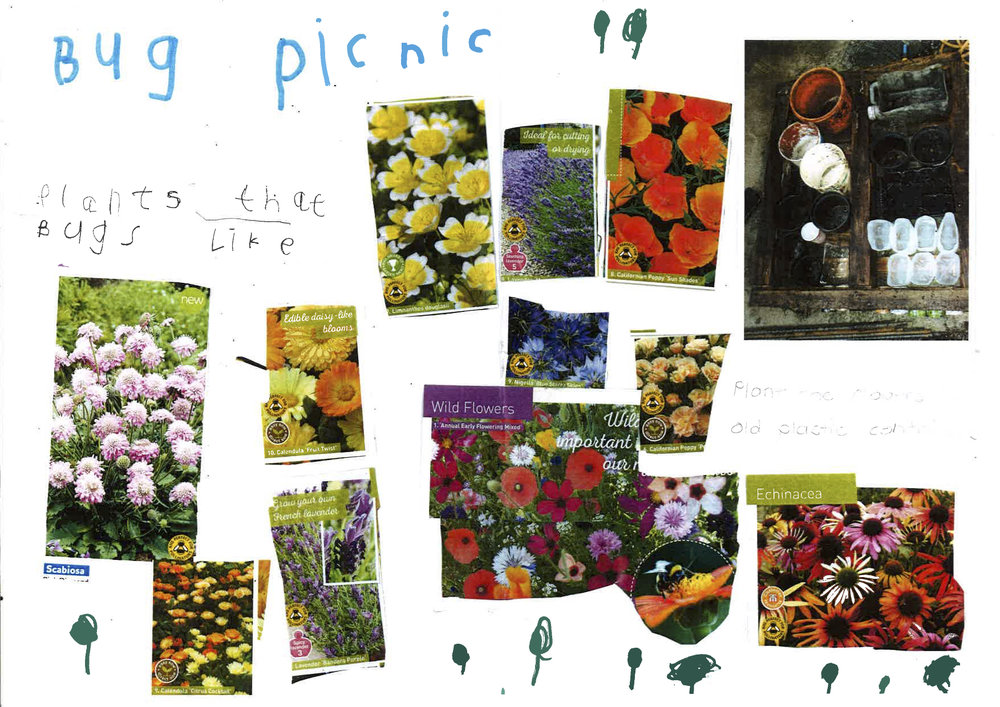 This Pallet Garden design was created by Archie Walker for Keep Scotland Beautiful's One Planet Picnic Pocket Garden design competition.