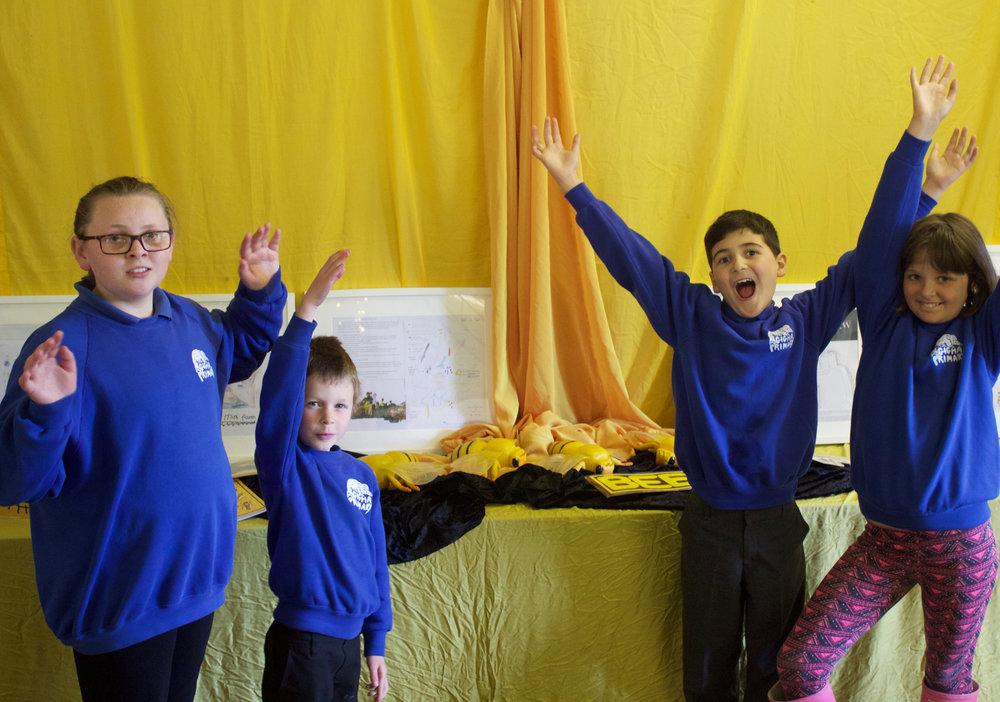 Image Curtesy of Isle of Gigha Primary School. © 2017 AWA.