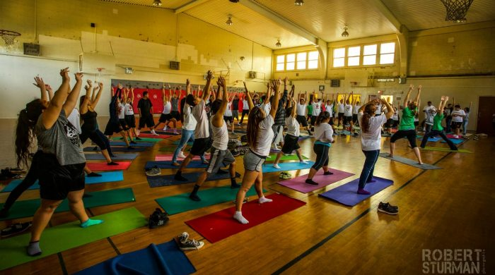 Yoga for At-Risk Youth by Andrea Rice