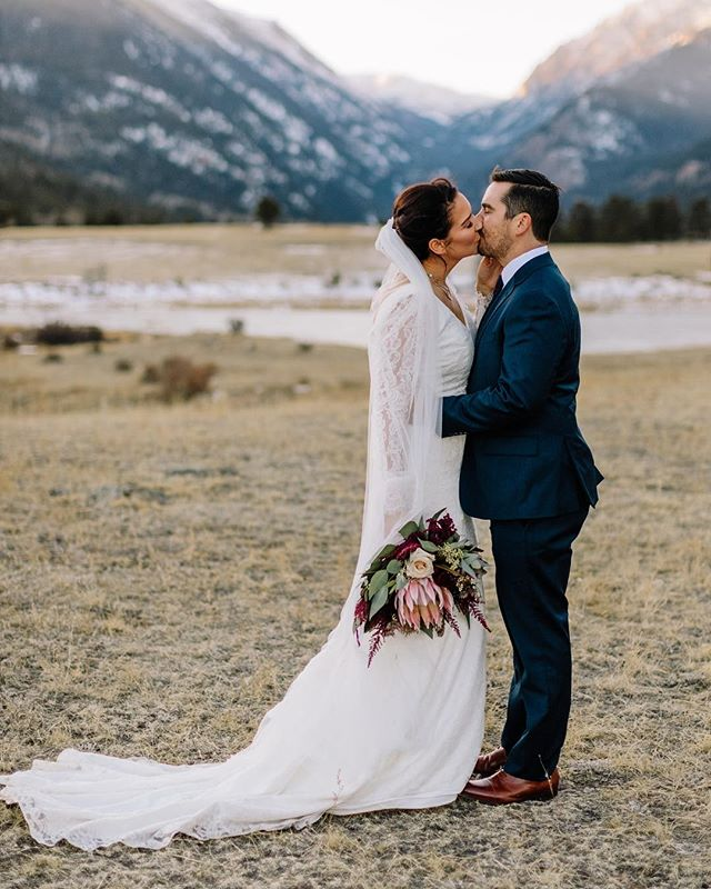 More weddings in the mountains, please. Thank you Alena and Joey. ❤️