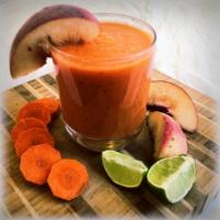 Peach Carrot Smoothie
