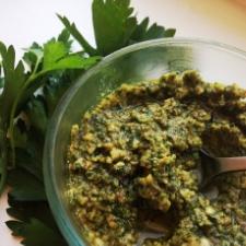 Flax Oil Pesto