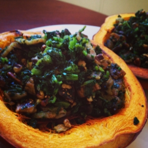Sweet N Savory Stuffed Pumpkin