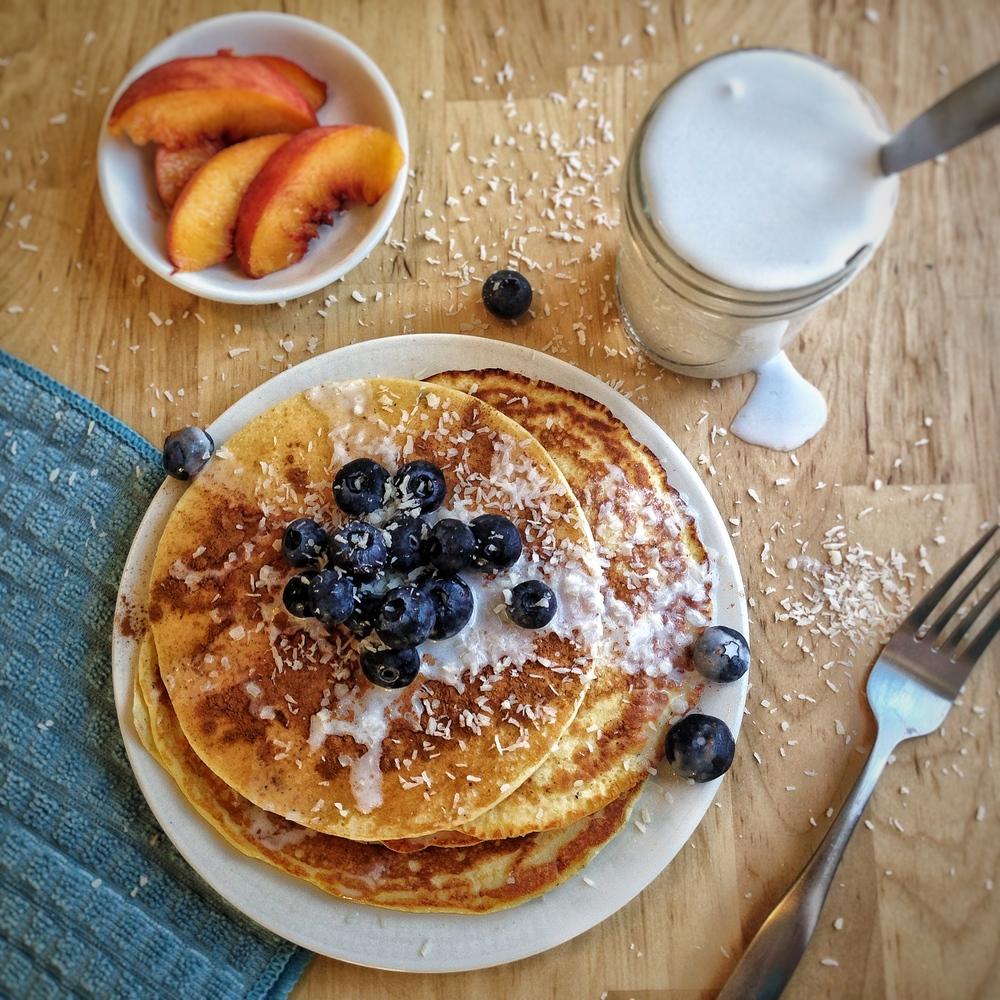 Fluffy Protein Pancakes (GF)