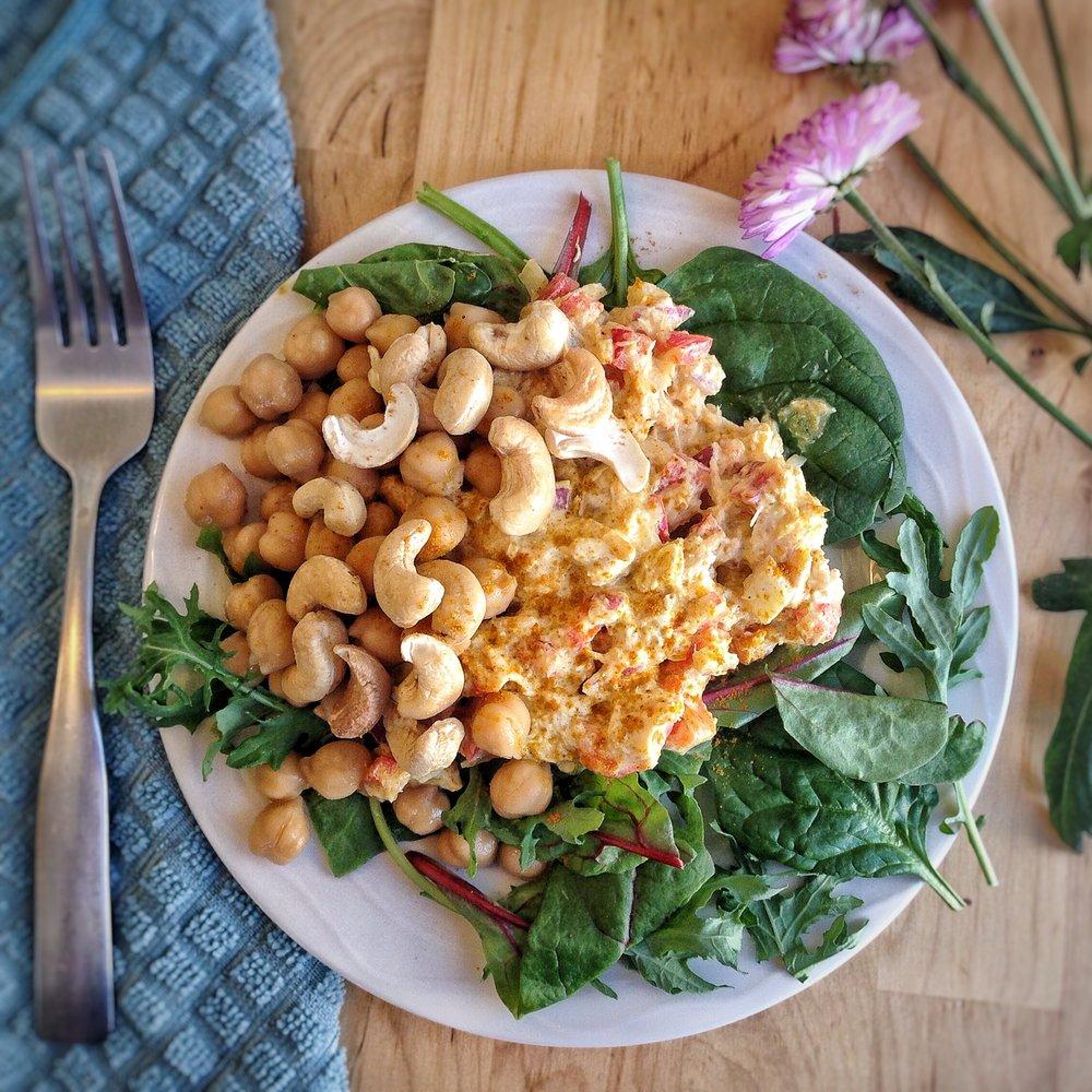 Tuna Curry Salad