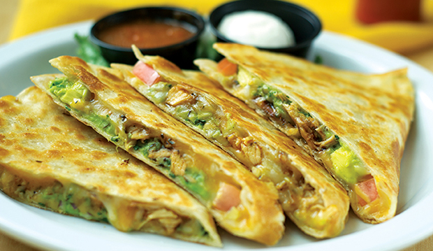 CHIKEN QUESADILLAS 8.95