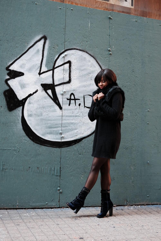 All Black Winter Fashion