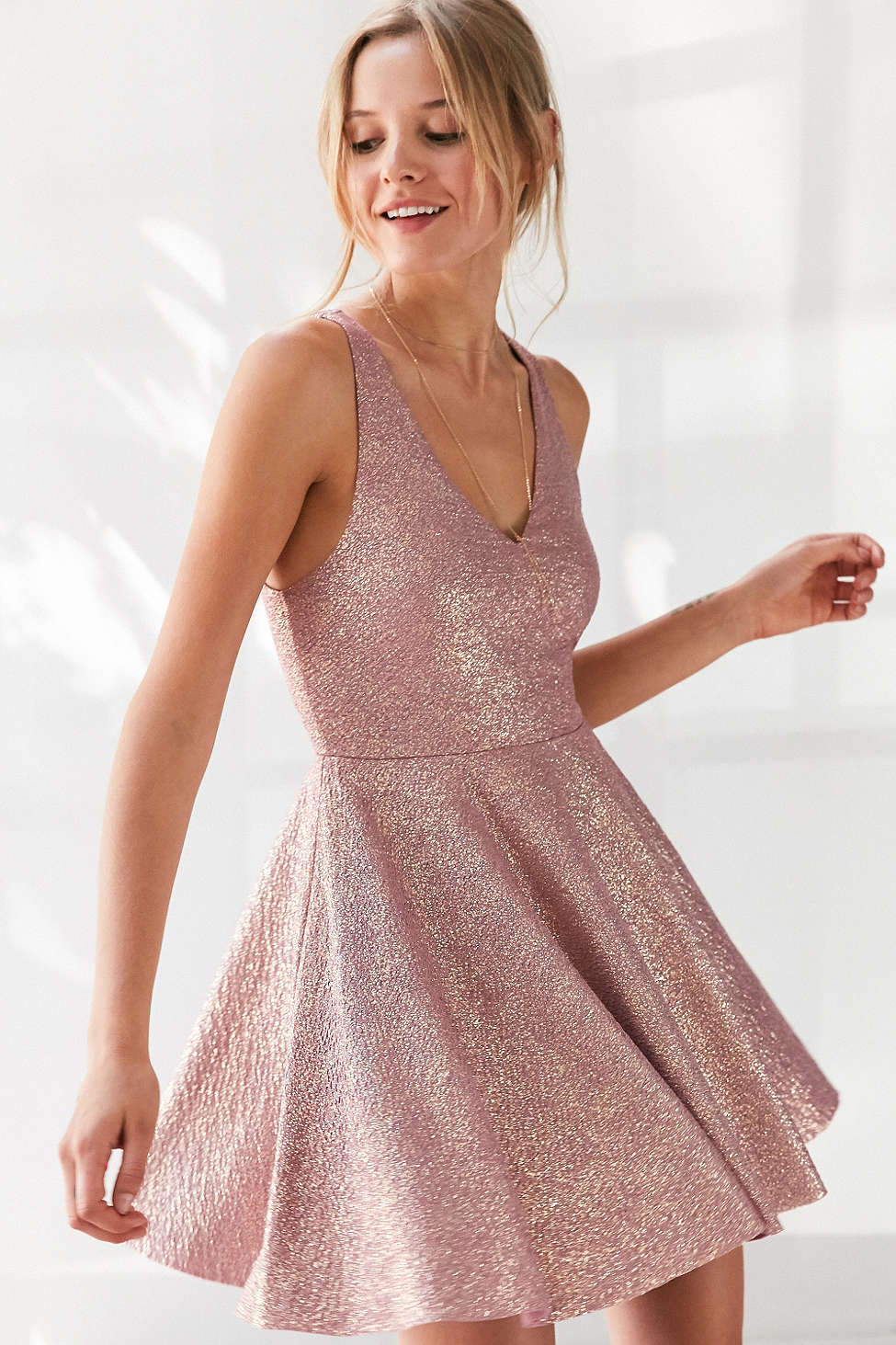 Silence and Noise Sinderella Sparkle Dress $69