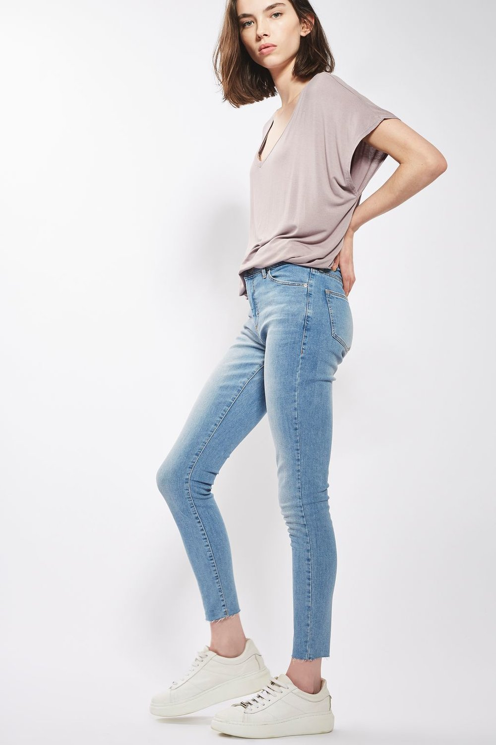 Topshop Light Blue Jeans