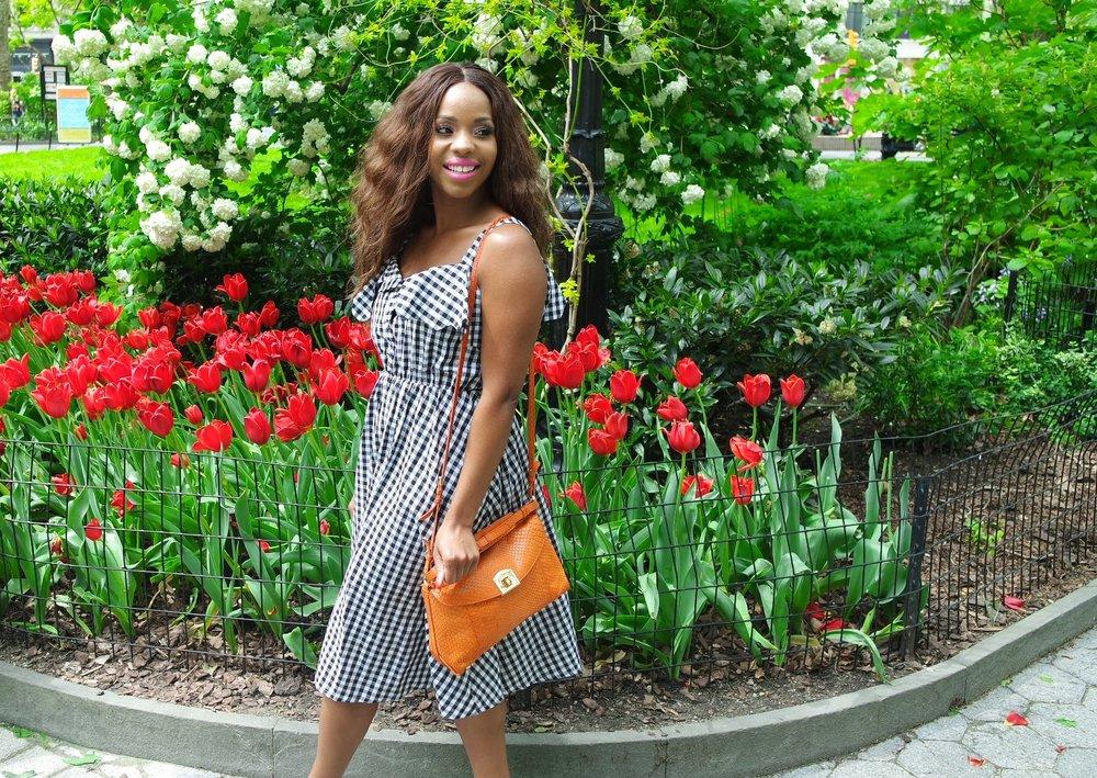 Gingham Summer Dress Park