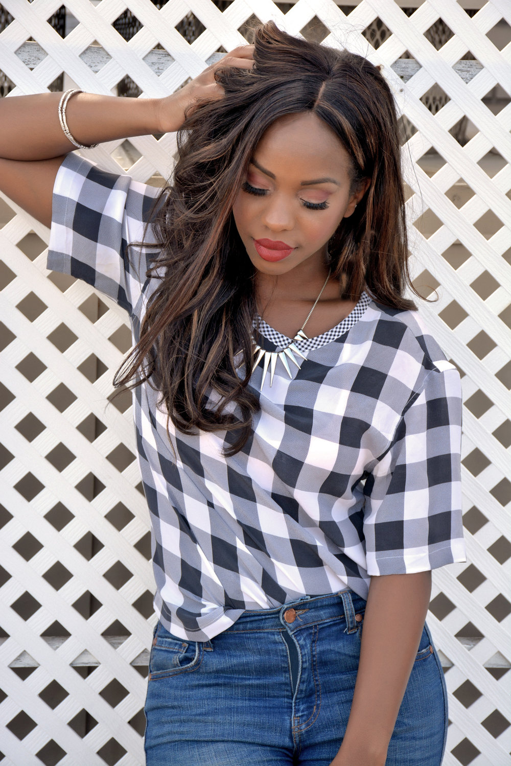 Summer Gingham Look