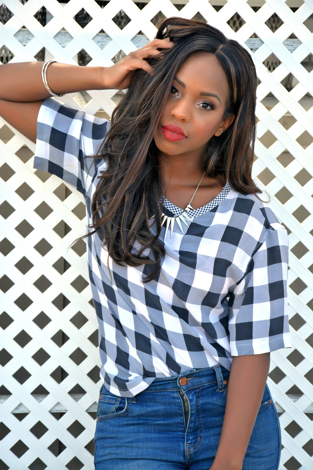 Summer Gingham Look 2