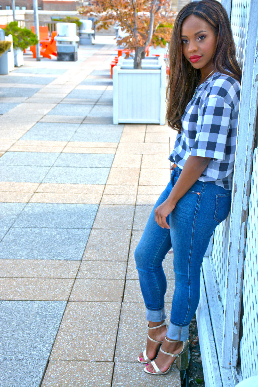 Summer Gingham Look 3
