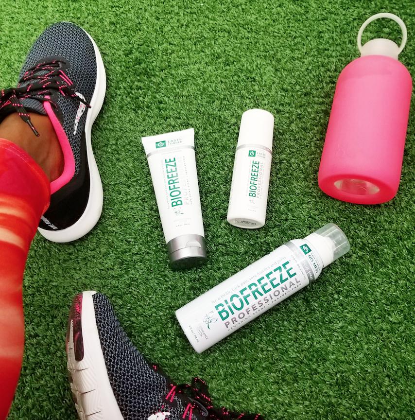Biofreeze-Gym-Bag-Flat-Lay