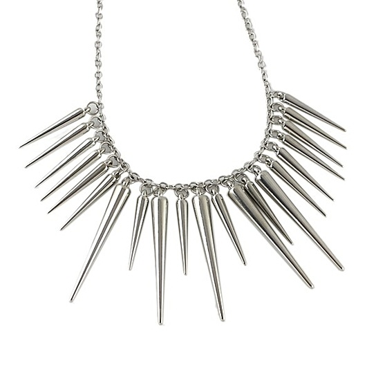 Silver Spike Necklace.jpg
