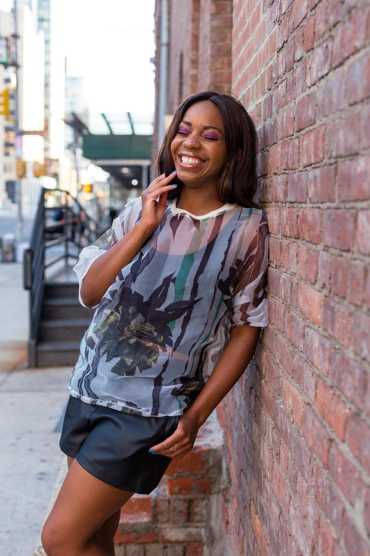 Malikah Kelly NYC Street Style