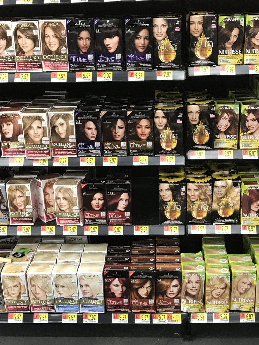 Schwarzkopf Color In Store Available at Walmart