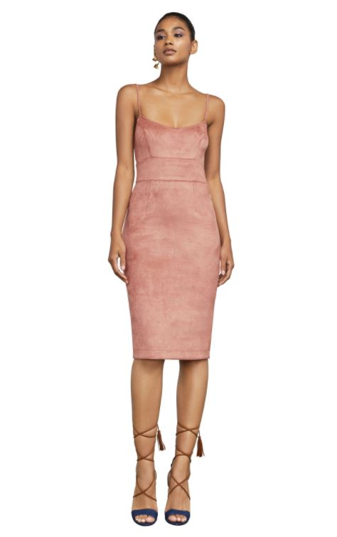 Faux Suede Blush Dress.JPG