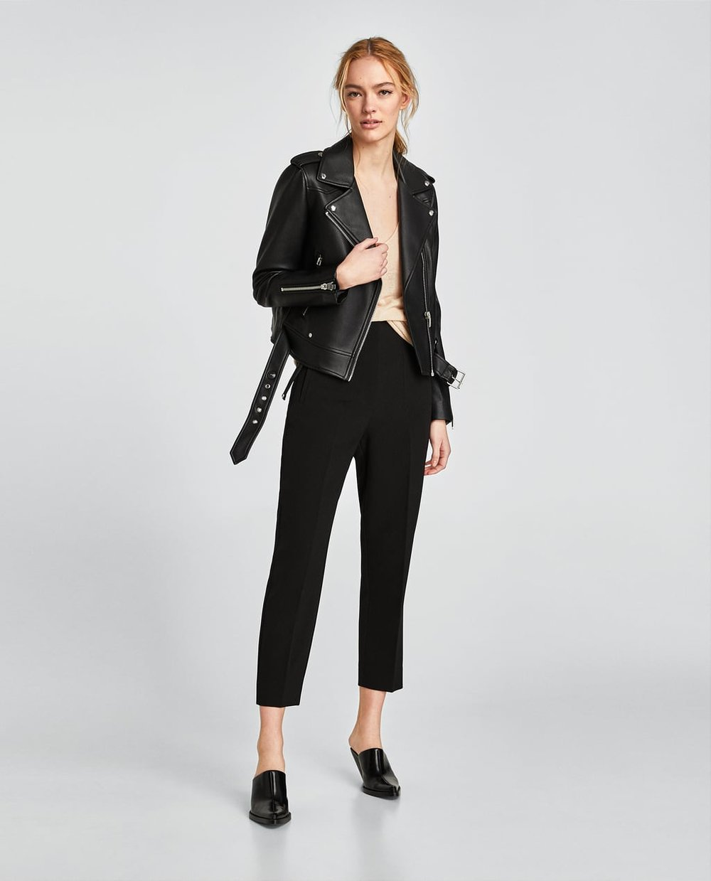 Zara Faux Leather Biker Jacket.jpg