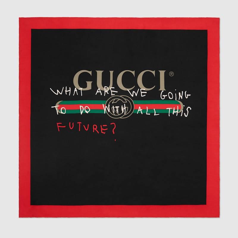 Gucci Logo Silk Scarf.jpg