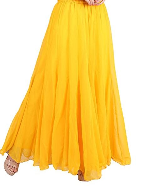 Amazon Fashion Yellow Palazzo Pants.JPG