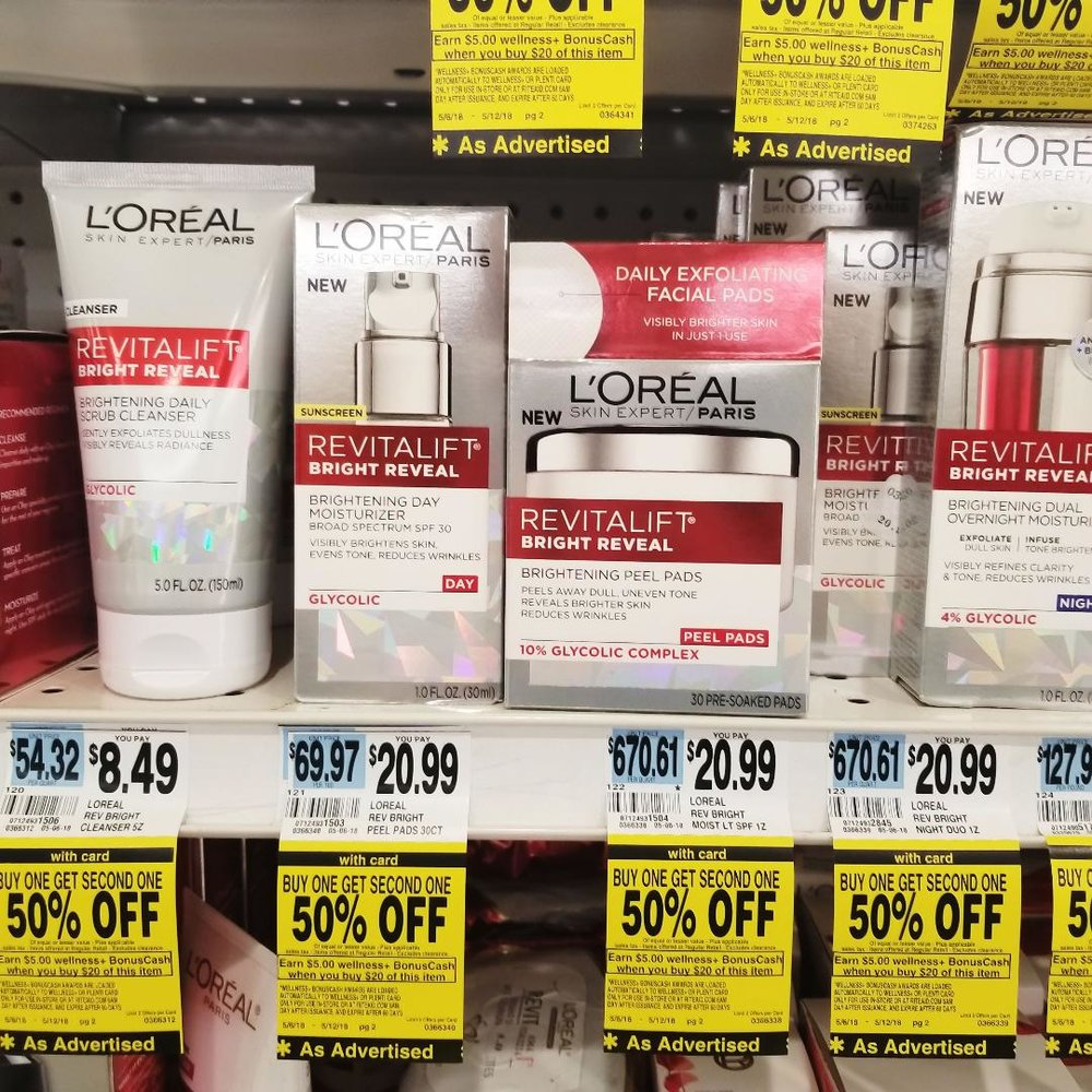 Loreal Products on Sale at RiteAid