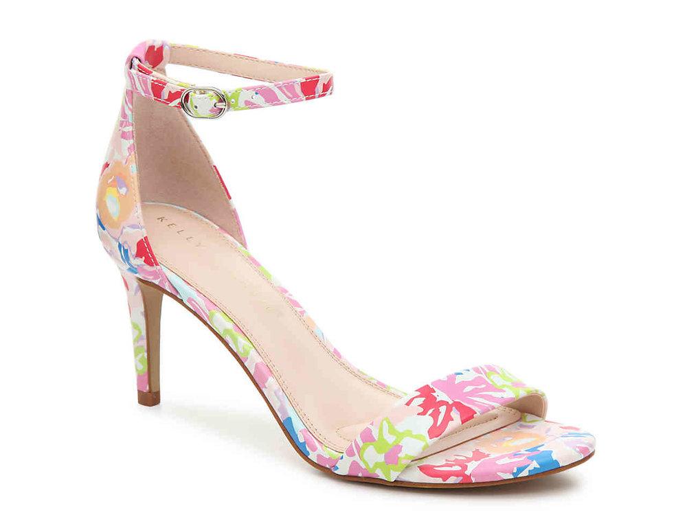 DSW Floral Strap Sandal.jpg