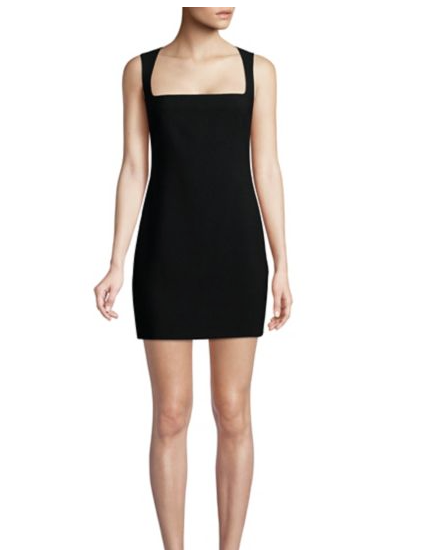 Josephine Squareneck Mini Dress
