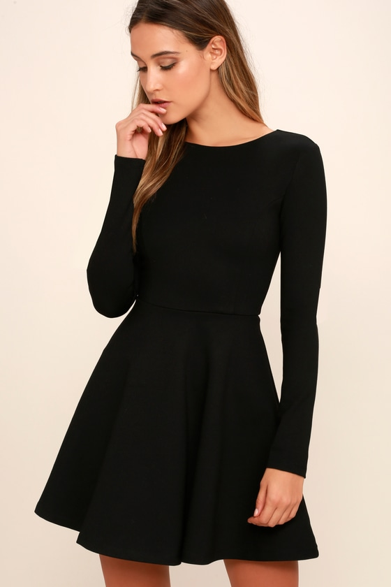 lulus forever chic black dress.jpg