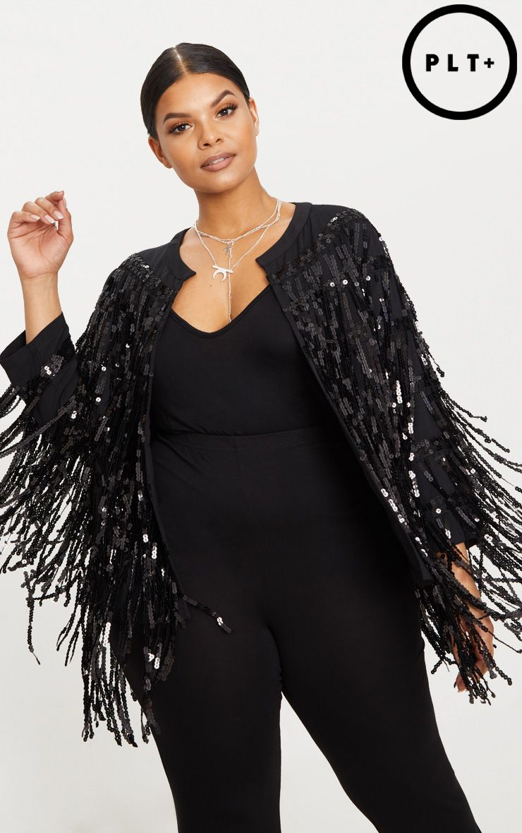 Black Sequin Fringe Jacket.jpg