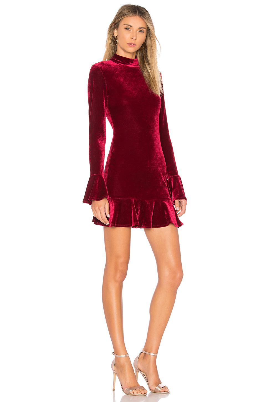 Revolve Burgundy Velvet Dress.jpg