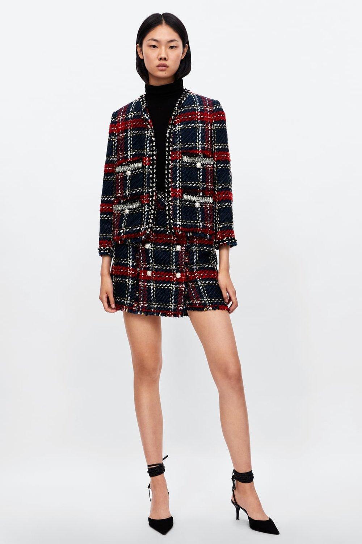 Zara Red Tweed Jacket.jpg