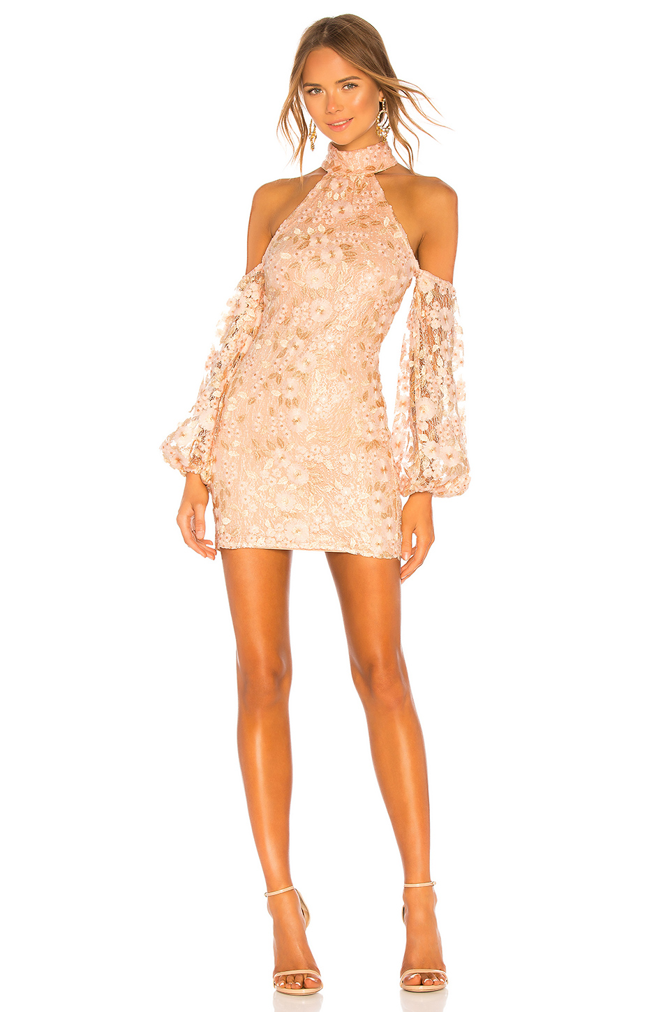Michael Costello x Revolve Gold Sequined Dress.jpg