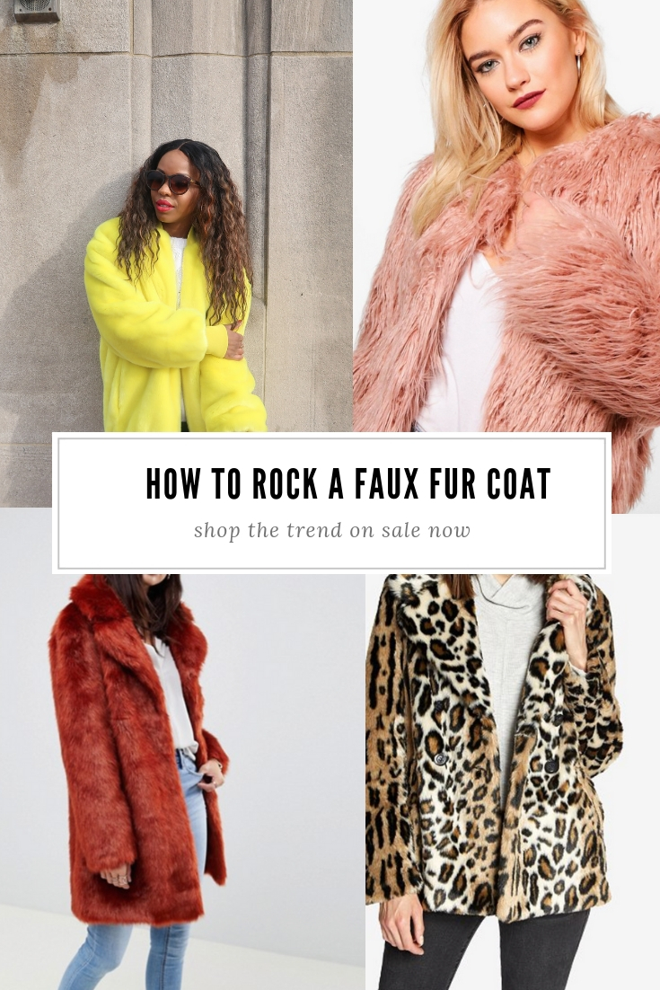 Faux Fur Coat Trend