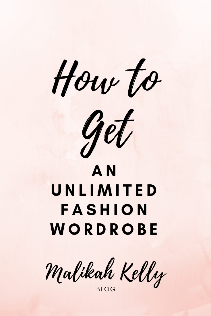 How to Get an Unlimited Wardrobe