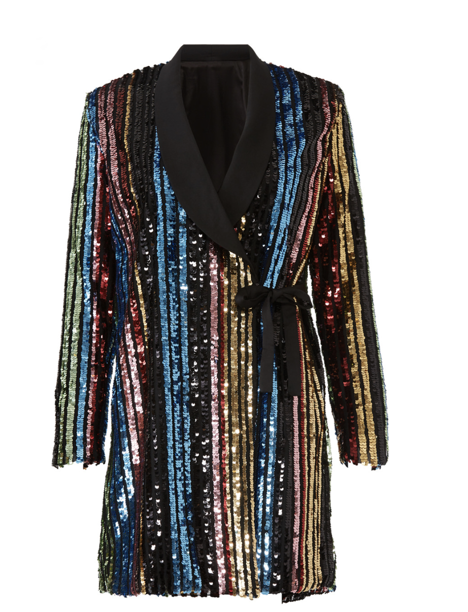 RAGA SEQUIN CHARLIZE BLAZER DRESS