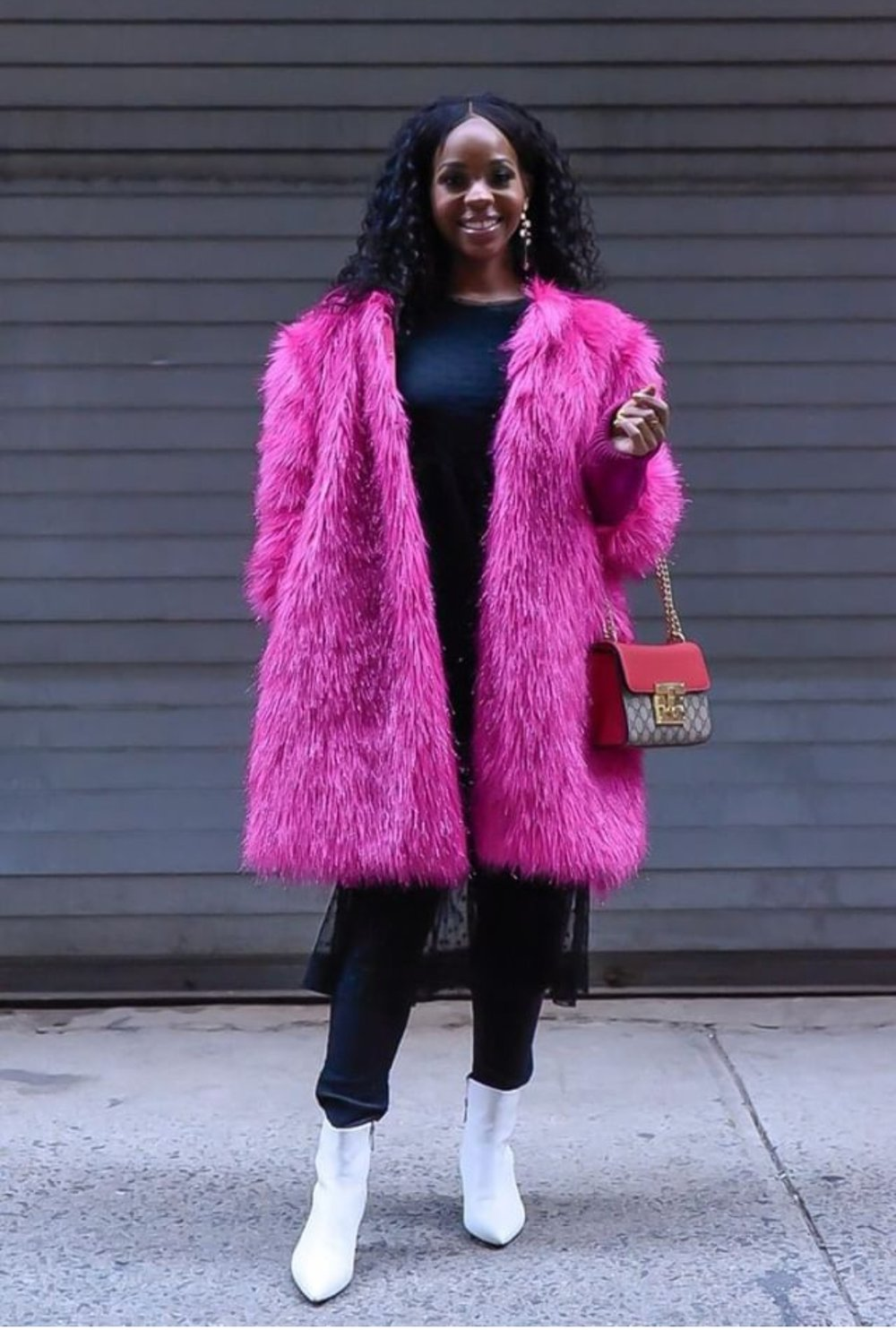 Pink Statement Coat Fashion Week.jpeg