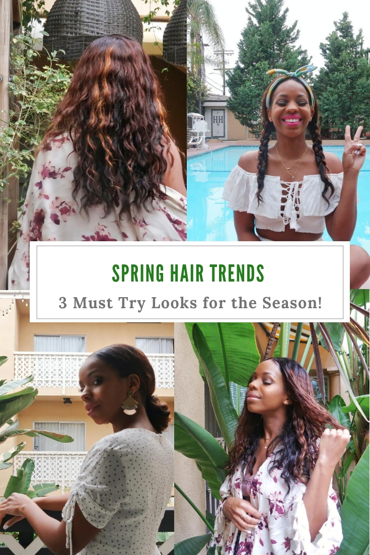 Spring Hairstyles Guide Natural Hair
