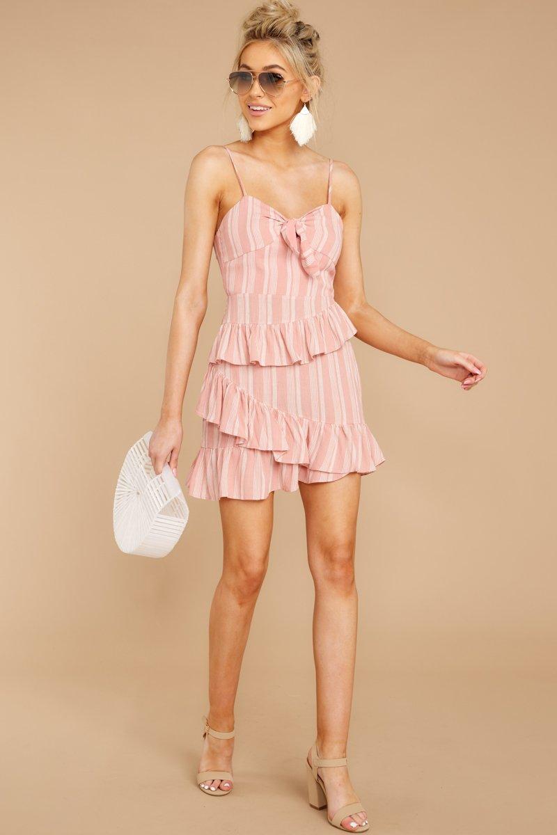 Don't Say No Mauve Pink Stripe Dress.jpg