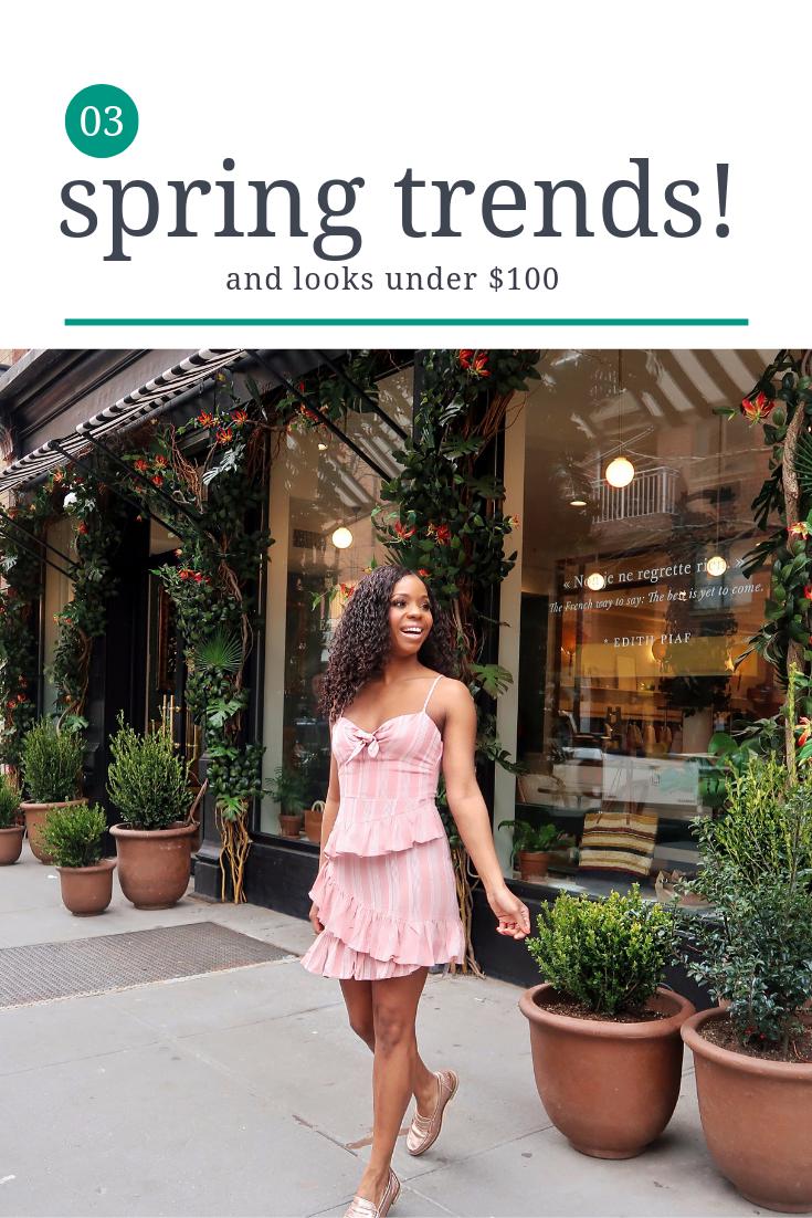 3 spring trends under $100