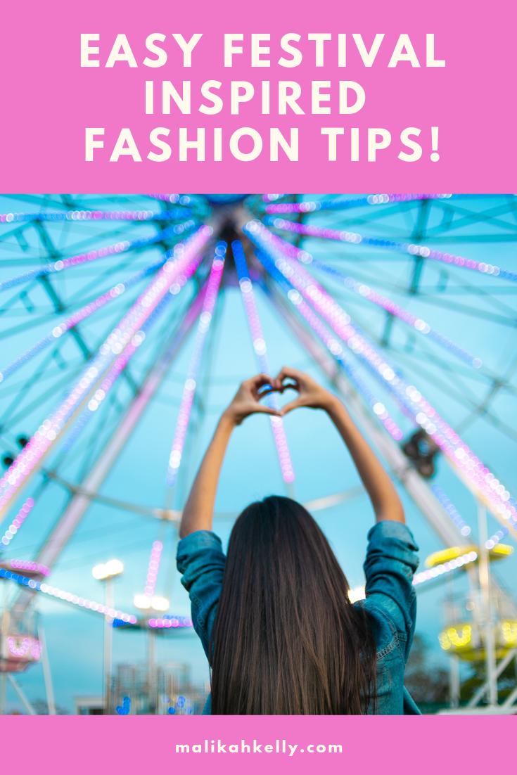Festival Fashion Tips