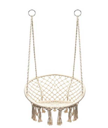 HANGING ROPE CHAIR OFF WHITE