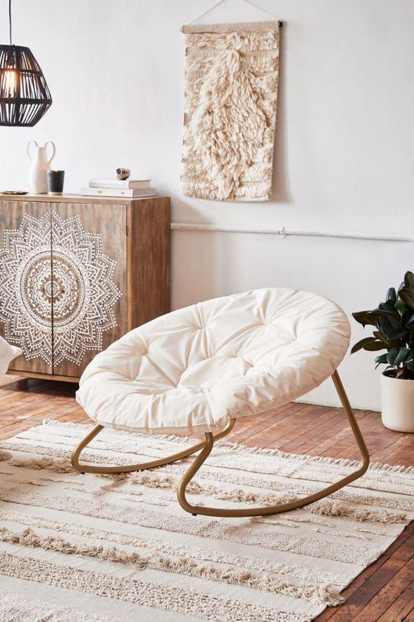 Urban Outfitters Cream Cushioned Papasan Chair.jpg