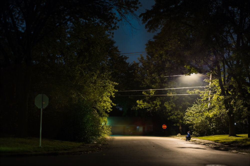 Pembrook and Surrey at night with Kalen