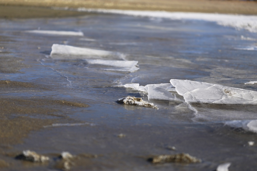 Sheets of Ice collide