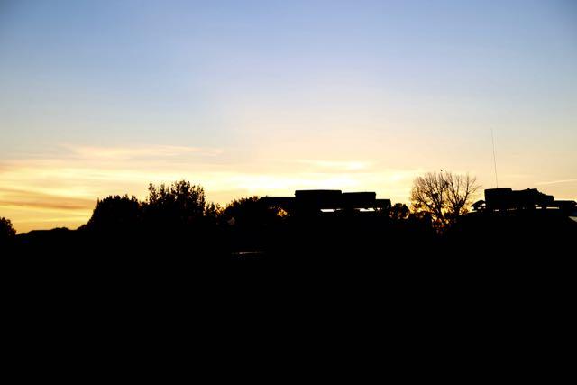 Sunset Over Comanche National Grasslands