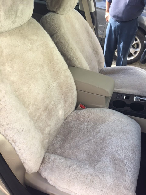 CUSTOM WRAP AROUND SEAT COVER-SUBARU FORRESTER (PEARL)